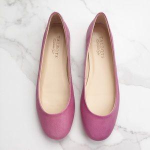 Talbots Lexie flats in Paris pink
